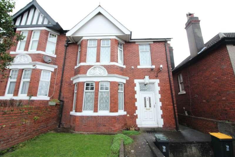 4 Bedrooms Semi Detached House for sale in Dewsland Park Road, Newport, NP20