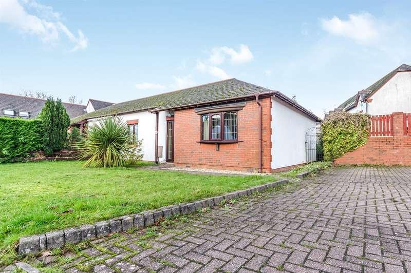 2 Bedrooms Semi Detached Bungalow for sale in Bron Afon, Tircoed Forest Village, Swansea