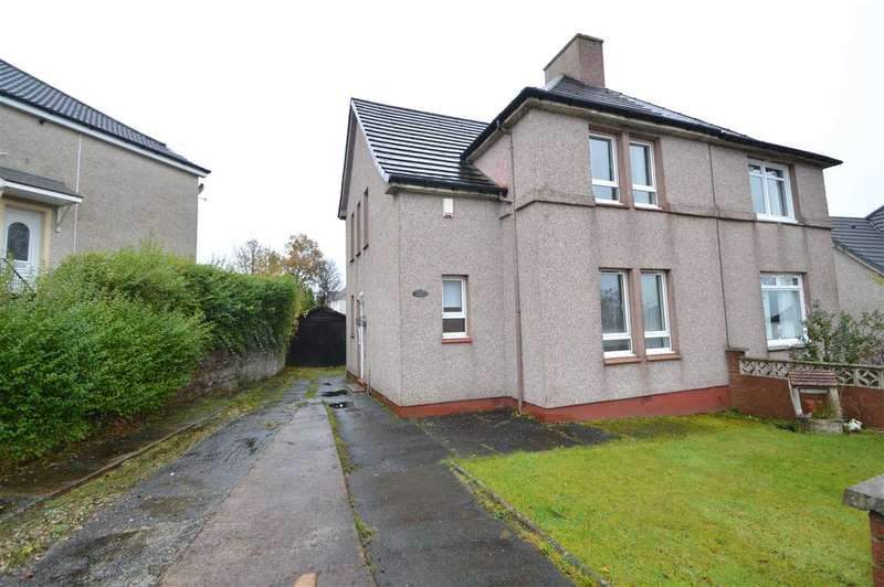 3 Bedrooms Semi Detached House for sale in Glebe Crescent, Airdrie
