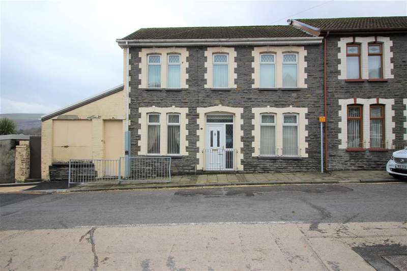 4 Bedrooms Semi Detached House for sale in Cemetery Road, Porth