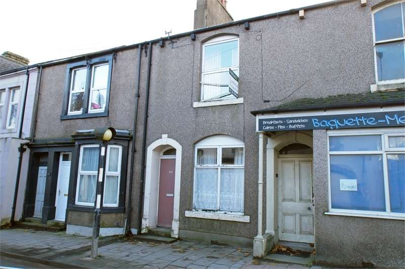 2 Bedrooms Terraced House for sale in CA7 3AA King Street, Aspatria, Cumbria