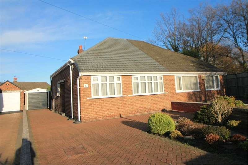 2 Bedrooms Semi Detached Bungalow for sale in Halifax Crescent, Thornton, LIVERPOOL, Merseyside