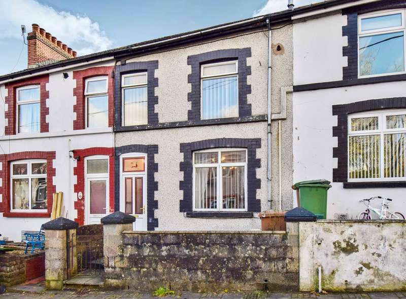 3 Bedrooms Terraced House for sale in Upper Francis Street, Abertridwr, Caerphilly, CF83