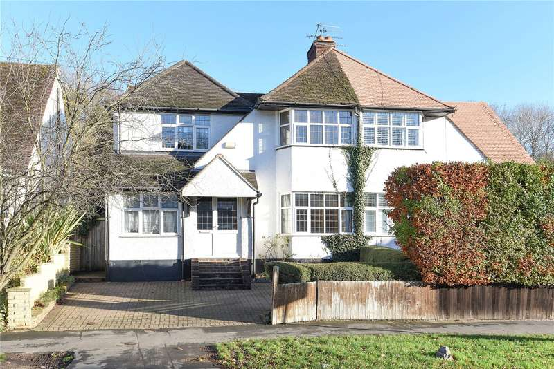 4 Bedrooms Semi Detached House for sale in Whitelands Avenue, Chorleywood, Rickmansworth, Hertfordshire, WD3