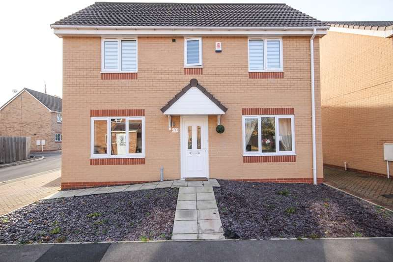 3 Bedrooms Detached House for sale in Lime Avenue, Doncaster, South Yorkshire, DN9