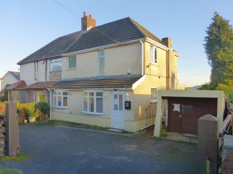 3 Bedrooms Semi Detached House for sale in Heol Fach, Treboeth, Swansea