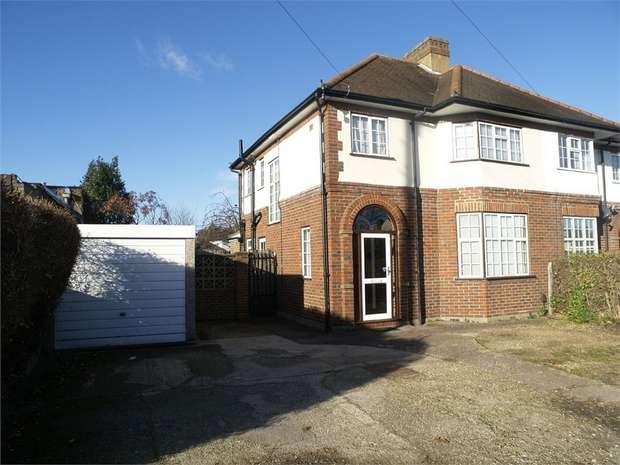 3 Bedrooms Semi Detached House for sale in Ruxley Lane, West Ewell