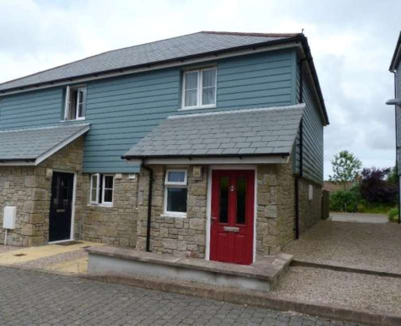 2 Bedrooms End Of Terrace House for sale in Whym Kibbal Court, Redruth, Cornwall, TR15 2FH