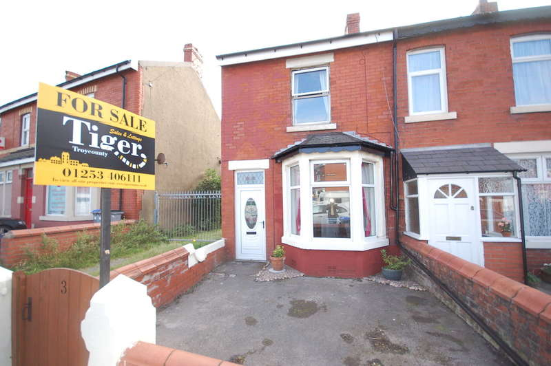 2 Bedrooms End Of Terrace House for sale in Daggers Hall Lane, Blackpool