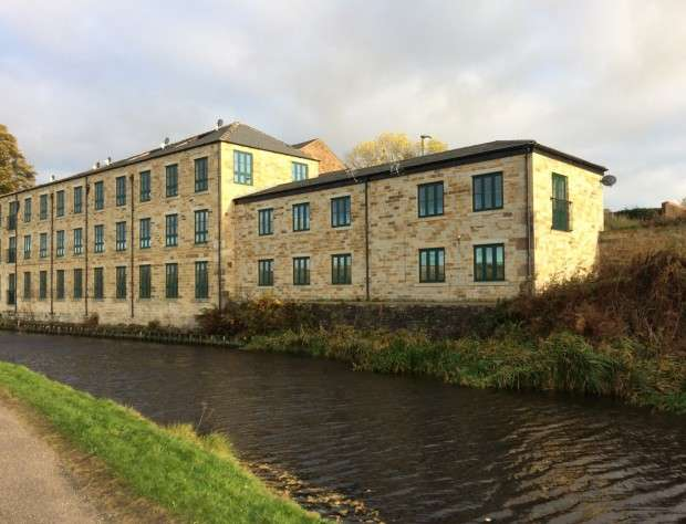 2 Bedrooms Apartment Flat for sale in Apartment 7 Canalside Mill, Clegg Hall Lane, Littleborough, OL15