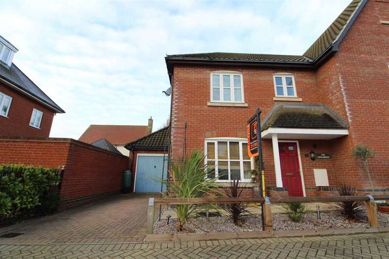 3 Bedrooms Semi Detached House for sale in Loganberry Road, Ravenswood