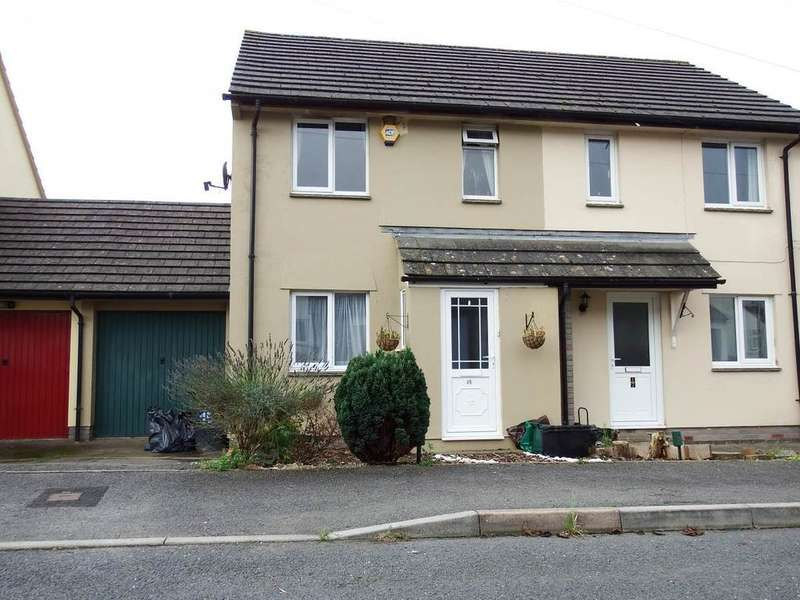 2 Bedrooms Semi Detached House for sale in Hawthorn Road, Barnstaple