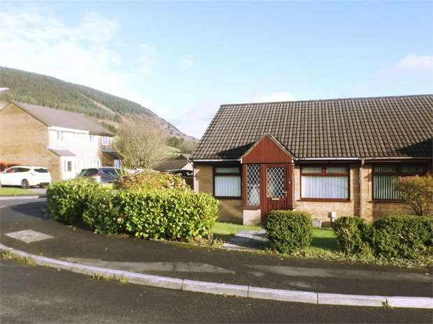 2 Bedrooms Semi Detached Bungalow for sale in Woodland Row, Cwmavon, Port Talbot, West Glamorgan