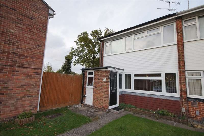 3 Bedrooms End Of Terrace House for sale in Hanwood Close, Woodley, READING, Berkshire