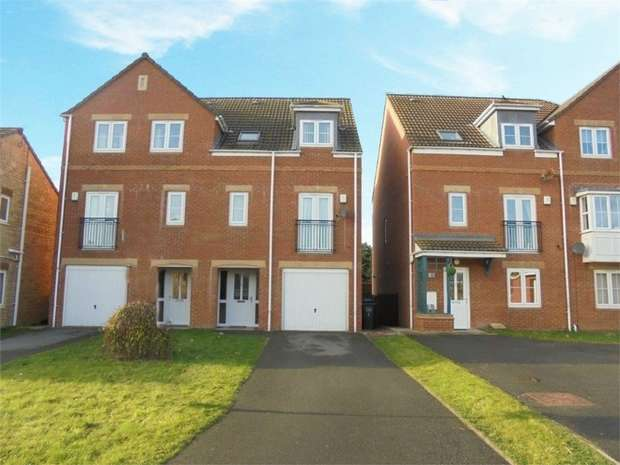 4 Bedrooms Semi Detached House for sale in Ascot Way, St Helen Auckland, Bishop Auckland, Durham