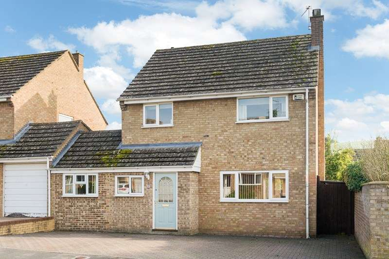 3 Bedrooms Link Detached House for sale in Cross Way, Middle Barton, Chipping Norton
