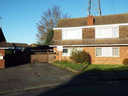 3 Bedrooms Semi Detached House for sale in Beaumont Drive, Cheltenham, Gloucestershire