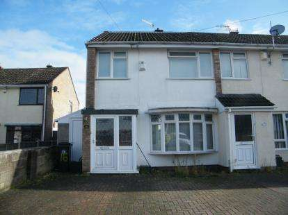 4 Bedrooms End Of Terrace House for sale in Stratford Close, Whitchurch, Bristol