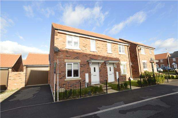 3 Bedrooms Semi Detached House for sale in Tawny Close, Bishops Cleeve, GL52 8GX
