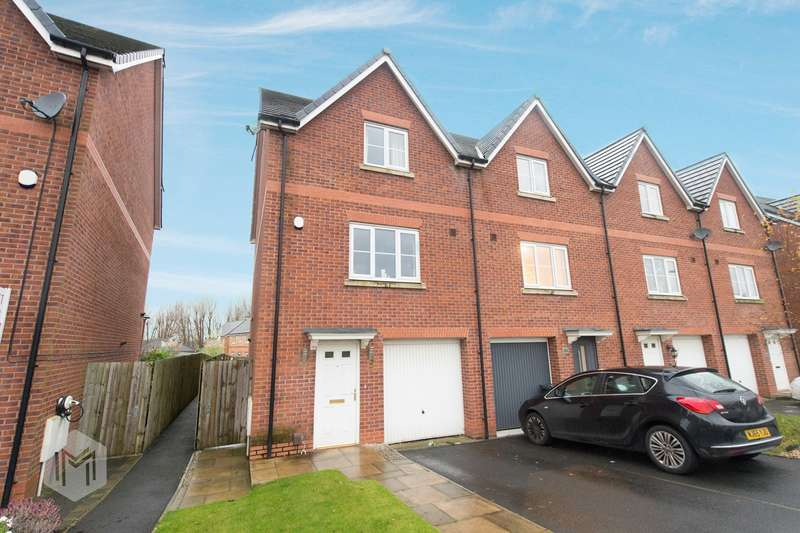 4 Bedrooms Town House for sale in Harrier Close, Lostock, Bolton, BL6