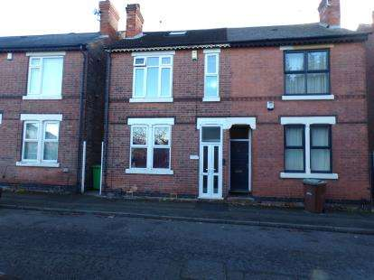 4 Bedrooms Semi Detached House for sale in Cycle Road, Lenton, Nottingham, Nottinghamshire
