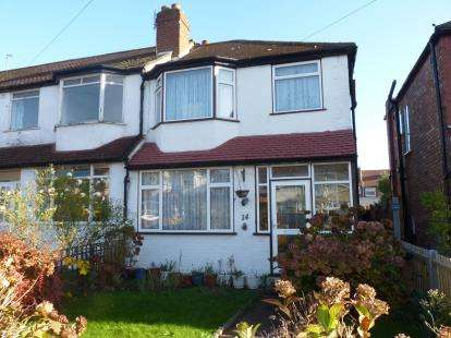3 Bedrooms End Of Terrace House for sale in Rhyl Road, Perivale, Greenford, Middlesex