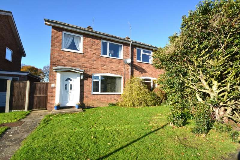 3 Bedrooms Semi Detached House for sale in Park Walk, Halesworth, Suffolk, IP19
