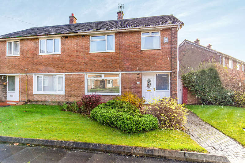 3 Bedrooms Semi Detached House for sale in Dinsdale Crescent, Darlington, DL1