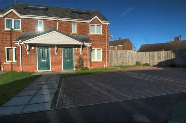2 Bedrooms Semi Detached House for sale in Victoria Square, Bowburn, Durham