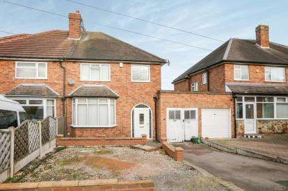 3 Bedrooms Semi Detached House for sale in Brenton Road, Penn, Wolverhampton, West Midlands