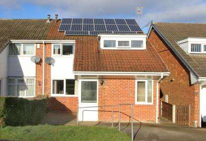 3 Bedrooms Semi Detached House for sale in Norfolk Avenue, Grassmoor, Chesterfield, Derbyshire