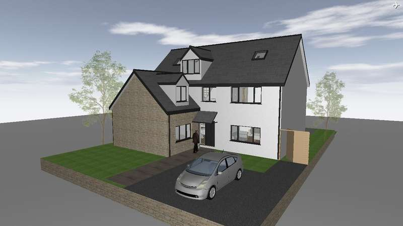 5 Bedrooms Detached House for sale in Plot 17 Bryngarw Farm, New Road, Brynmenyn, Bridgend, Bridgend County Borough, CF32 9LL.