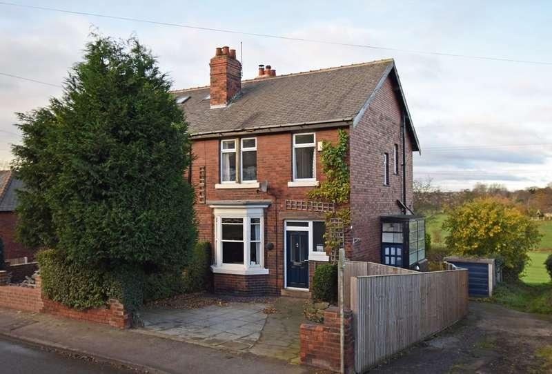 3 Bedrooms Semi Detached House for sale in Oakenshaw Lane, Walton, Wakefield