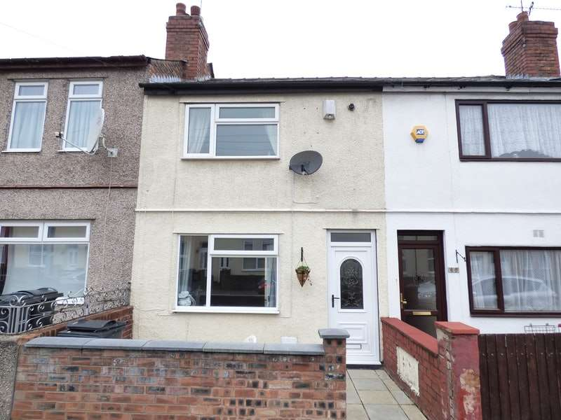 2 Bedrooms Terraced House for sale in Woodfield Road, Ellesmere Port, Cheshire, CH65