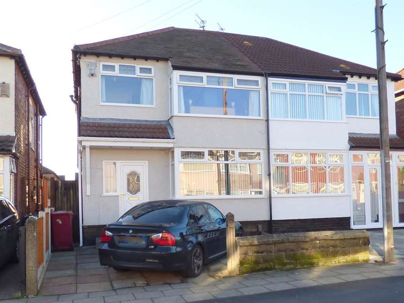3 Bedrooms Semi Detached House for sale in Hilary Avenue, Broadgreen, Liverpool