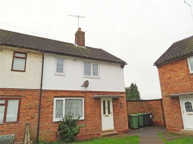 2 Bedrooms Semi Detached House for sale in Caldecott Crescent, Whitchurch, Shropshire