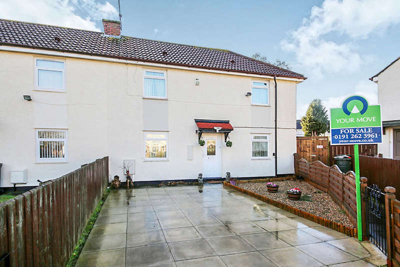 2 Bedrooms Semi Detached House for sale in Finsbury Avenue, Newcastle Upon Tyne, NE6