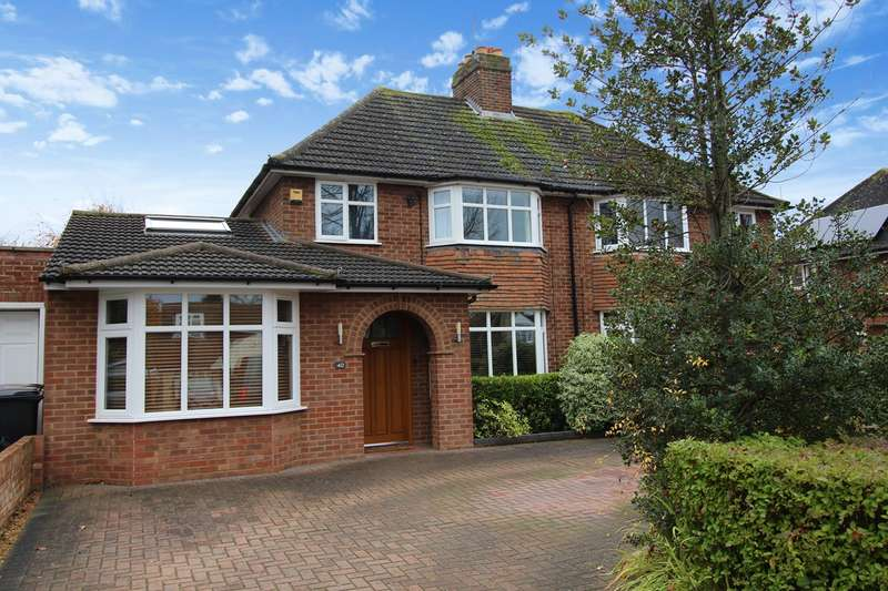 4 Bedrooms Semi Detached House for sale in Willian Road, Hitchin, SG4