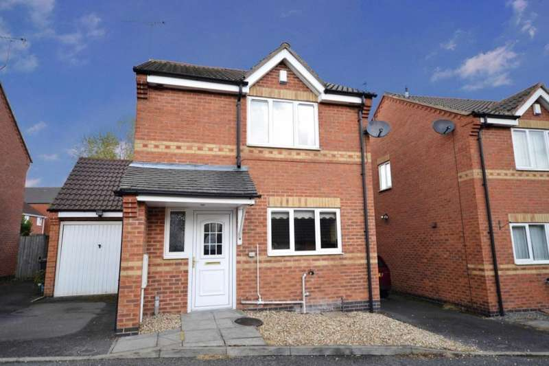 3 Bedrooms Detached House for sale in Stable Mews Station Road, Woodville, Swadlincote, DE11