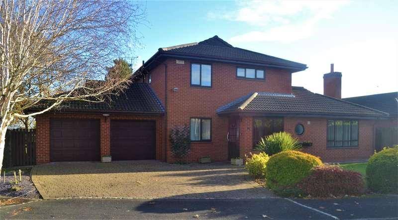 3 Bedrooms Detached House for sale in Clarendon Close, Handbridge, Chester