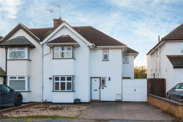 4 Bedrooms Semi Detached House for sale in Somerset Way, Richings Park, Iver, Buckinghamshire
