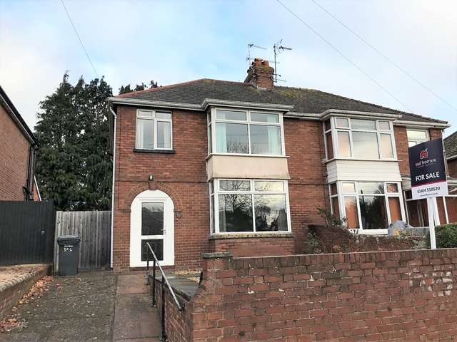 3 Bedrooms Semi Detached House for sale in Pinhoe Road, Exeter