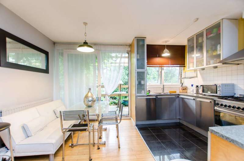 4 Bedrooms House for sale in St James's Crescent, Brixton, SW9