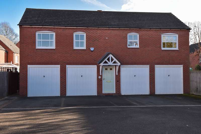 2 Bedrooms Apartment Flat for sale in Railway Walk, Bromsgrove, B60