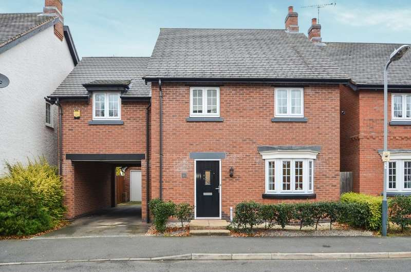 4 Bedrooms Detached House for sale in Mellish Road, Bilton, Rugby