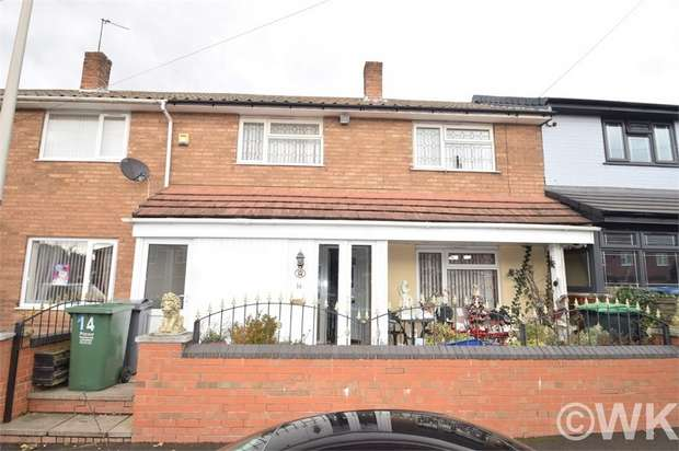 3 Bedrooms Terraced House for sale in Borwick Avenue, WEST BROMWICH, West Midlands