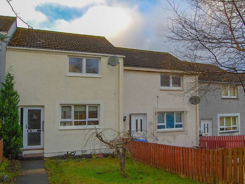 2 Bedrooms Terraced House for sale in 331 Braehead, Alexandria, G83 9NF