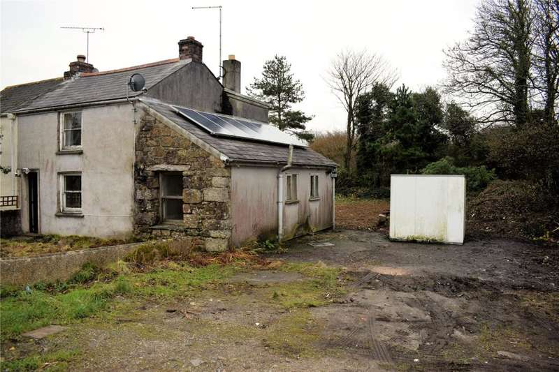 2 Bedrooms End Of Terrace House for sale in Trenear, Helston