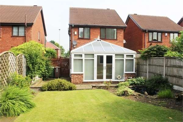3 Bedrooms Detached House for sale in Millfields, Eccleston, St Helens, Merseyside