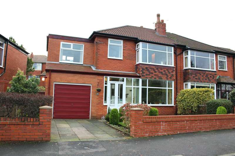 4 Bedrooms Semi Detached House for sale in Farnborough Road, Bolton